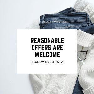 Reasonable Offers Please